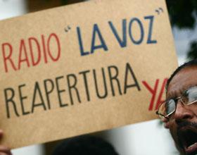 Perú: La FIP destacó la lucha por la restitución de la licencia de Radio La Voz de Bagua