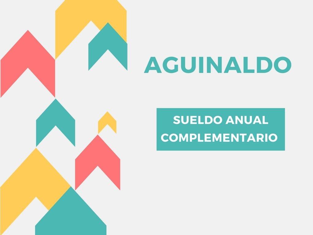 Legales: Consideraciones sobre el aguinaldo