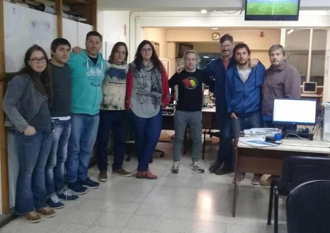Redacción del diario El Popular, Olavarría