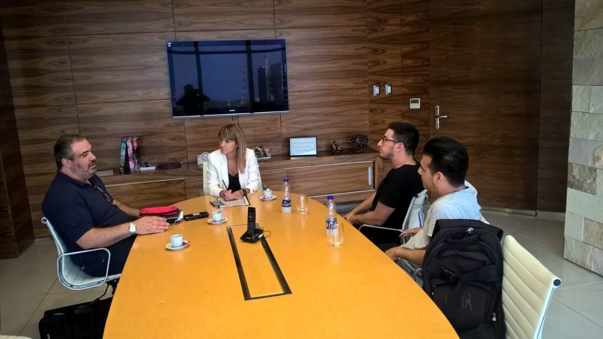 (Foto de la reunión en abril de 2018)