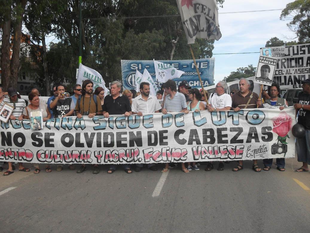Cabezas: En Pinamar una multitud recordó su aberrante crimen