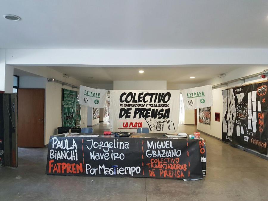Charla debate en La Plata