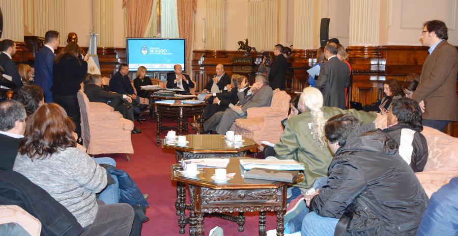 La FATPREN defendió a los trabajadores en el Senado de la Nación