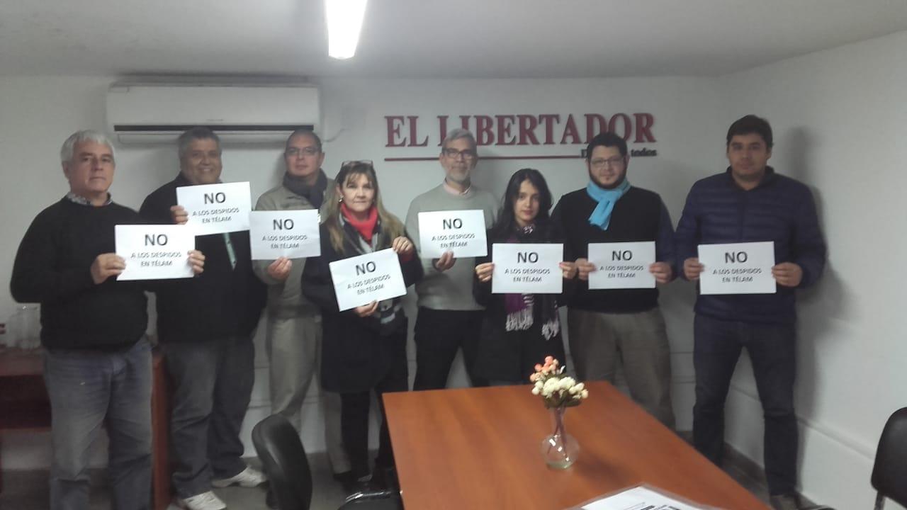 Trabajadores del Diario El Libertador, Corrientes