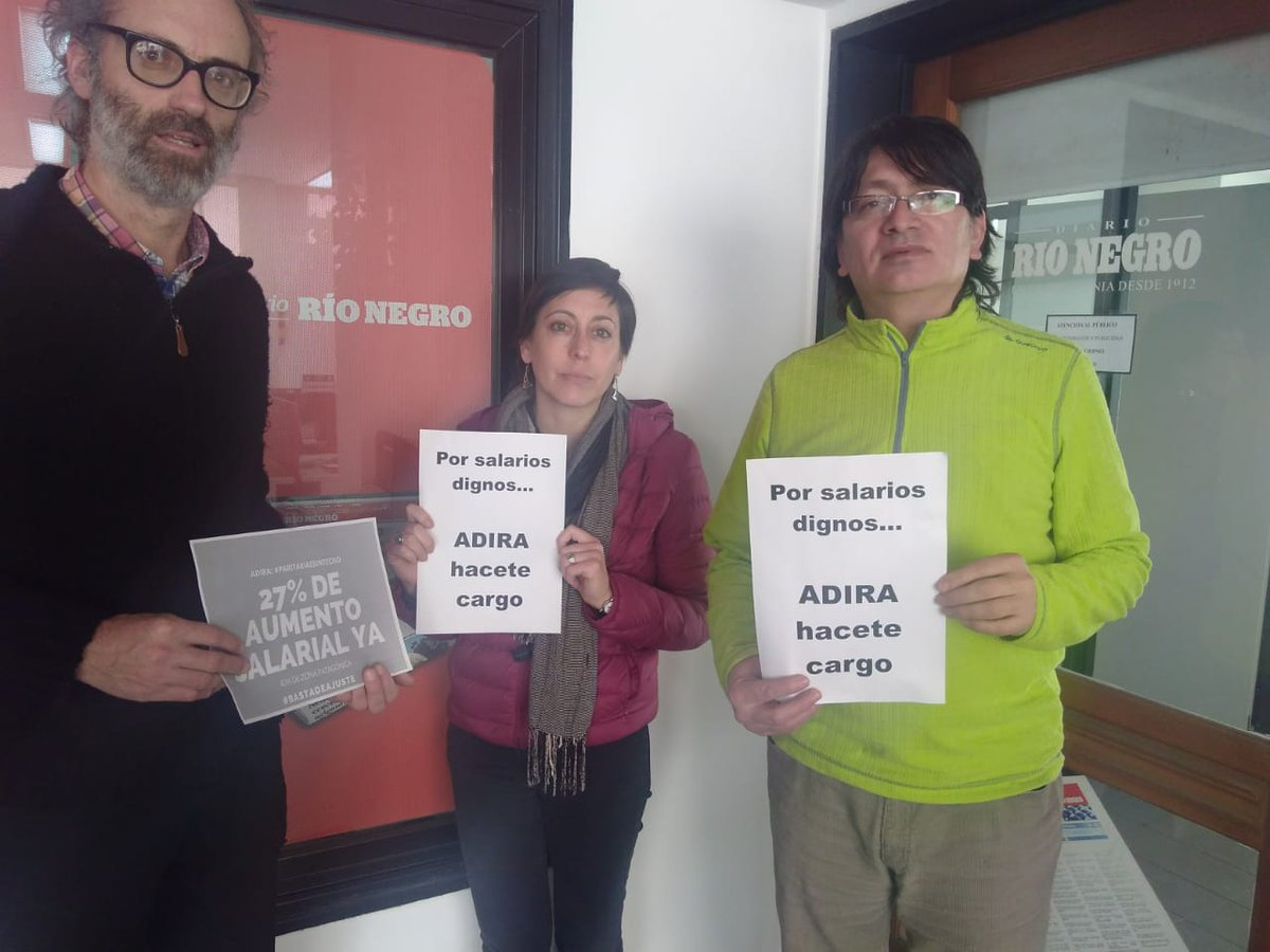 Agencia del diario Río Negro en Bariloche