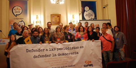 (Foto: Bárbara Arias, Secretaria de Prensa del Cispren)
