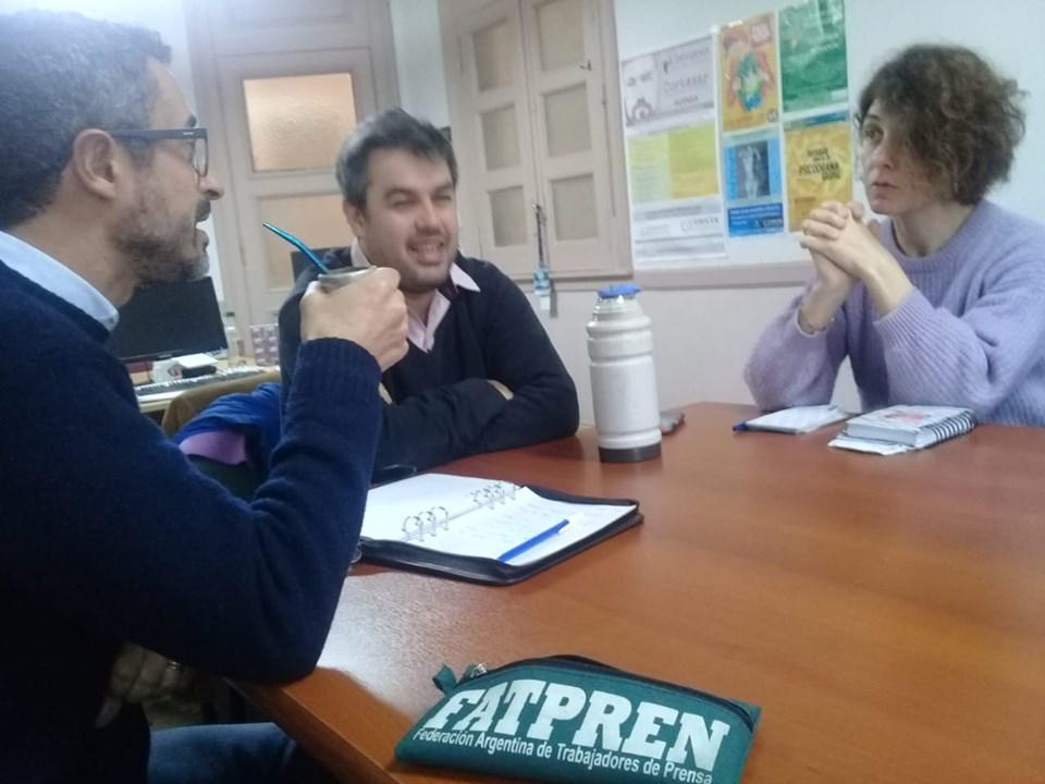 Tandil: El Sindicato de Prensa comenzó trabajar en el debate de los candidatos a Intendente