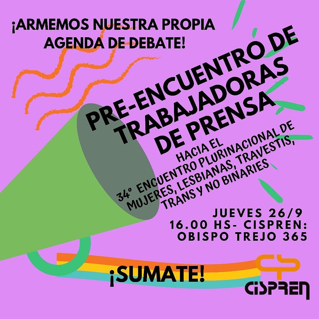 Las trabajadoras de Prensa de Córdoba tendrán su encuentro