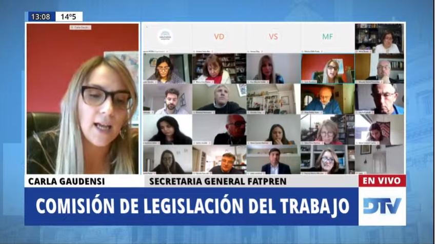 FATPREN interviene en el debate de la legislación del Teletrabajo