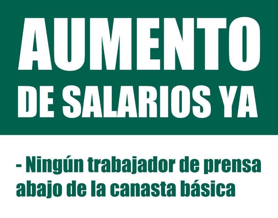 Fuerte reclamo por salarios a ADIRA en la jornada de lucha nacional de lxs trabajadorxs de prensa