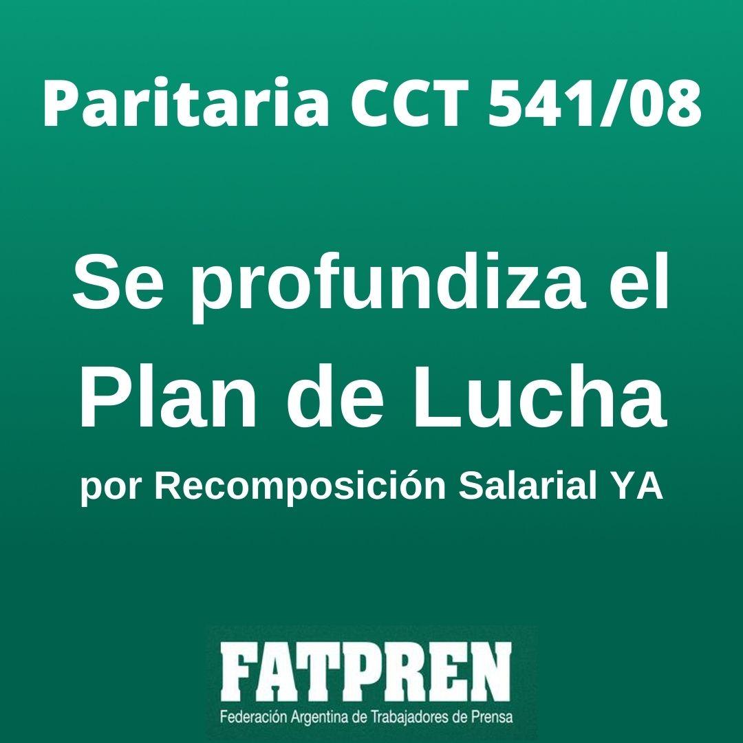 SE PROFUNDIZA EL PLAN DE LUCHA